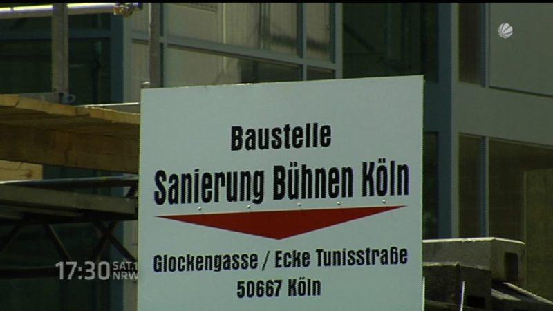 Bau der Kölner Oper verzögert sich (Foto: SAT.1 NRW)