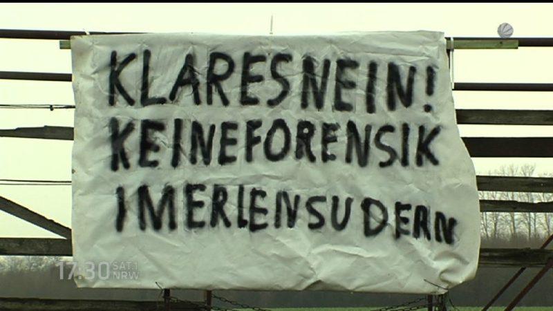 Klage gegen Forensik wird noch nicht bearbeitet (Foto: SAT.1 NRW)