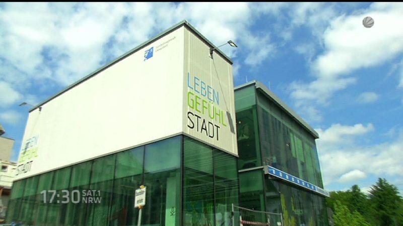 Kö-Pavillon wird abgerissen (Foto: SAT.1 NRW)