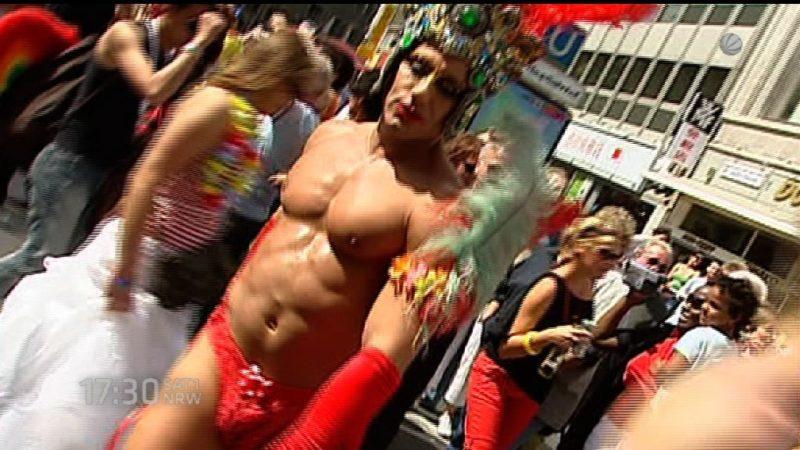 Rekordanmeldungen bei Christopher Street Day 2015 (Foto: SAT.1 NRW)