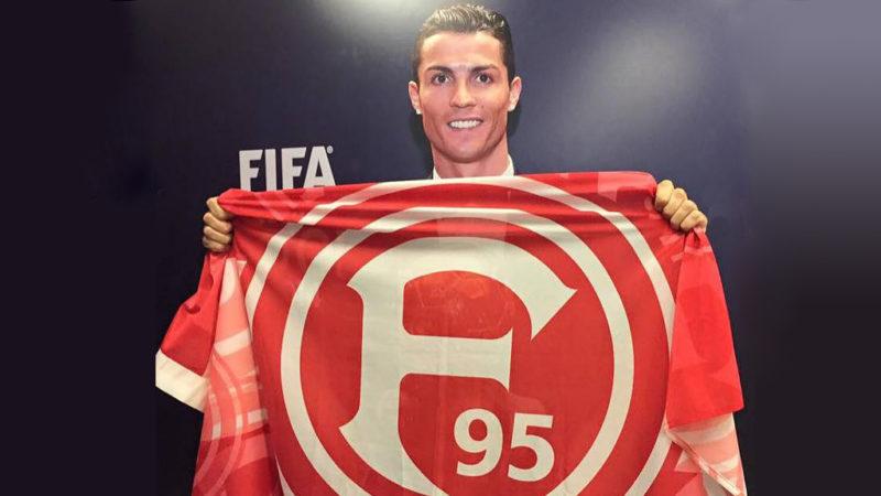 Ronaldo zu Fortuna Düsseldorf? (Foto: Julius Ehlert)