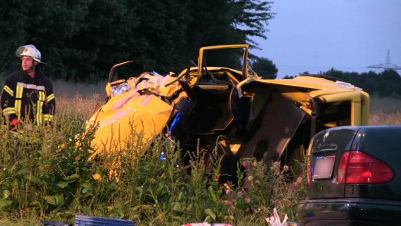 Nach tödlichem Unfall einfach geflüchtet (Foto: SAT.1 NRW)