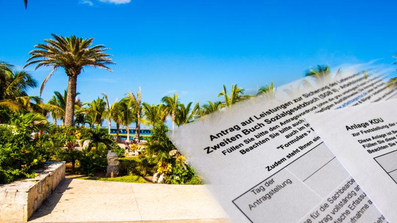 Forderung: Grundrecht auf Urlaub (Foto: SAT.1 NRW)