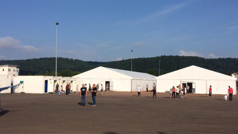 Jetzt kommen ganze Flüchtlingsdörfer (Foto: Stadt Essen)
