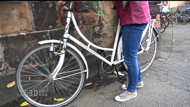 Immer mehr Fahrräder geklaut (Foto: SAT.1 NRW)