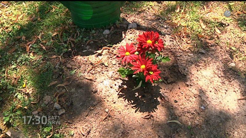 Kein Grabstein für die tote Frau (Foto: SAT.1 NRW)