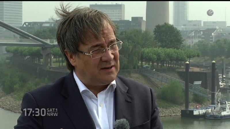Sommerinterview mit Armin Laschet (CDU) - Teil 1 (Foto: SAT.1 NRW)