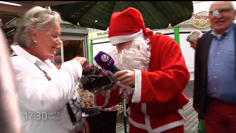 Schon Weihnachtsstimmung in NRW? (Foto: SAT.1 NRW)