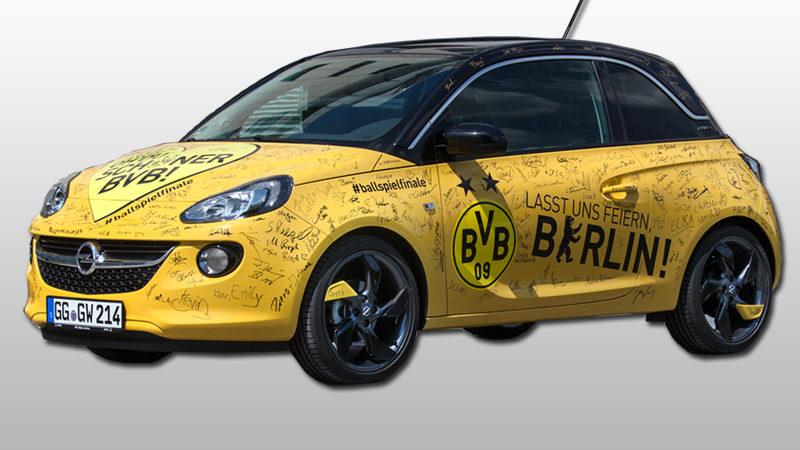 Klopps Dienstwagen versteigert (Foto: Adam Opel AG)