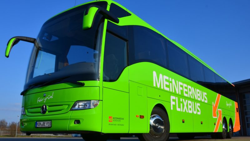 Maut auch für Fernbusse (Foto: Flixbus)