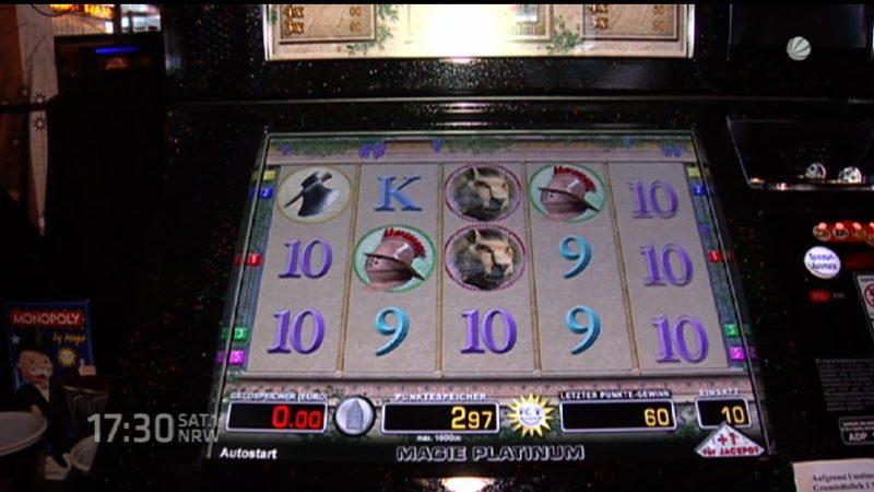Spielautomaten mit Software manipuliert (Foto: SAT.1 NRW)