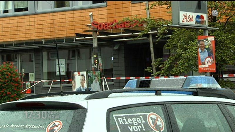 Banküberfall in Castrop-Rauxel (Foto: SAT.1 NRW)