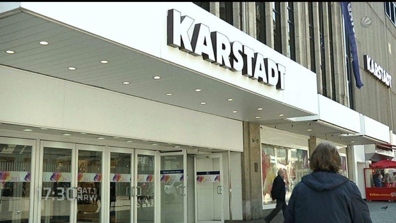 Tiefrote Zahlen bei Karstadt (Foto: SAT.1 NRW)