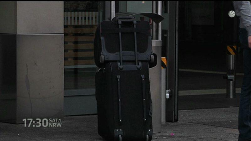 Immer mehr Gepäckdiebe (Foto: SAT.1 NRW)