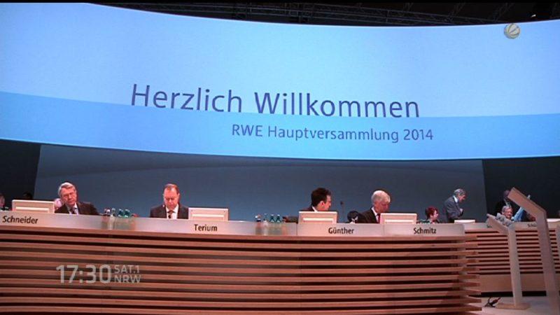 Noch mehr Kündigungen bei RWE? (Foto: SAT.1 NRW)