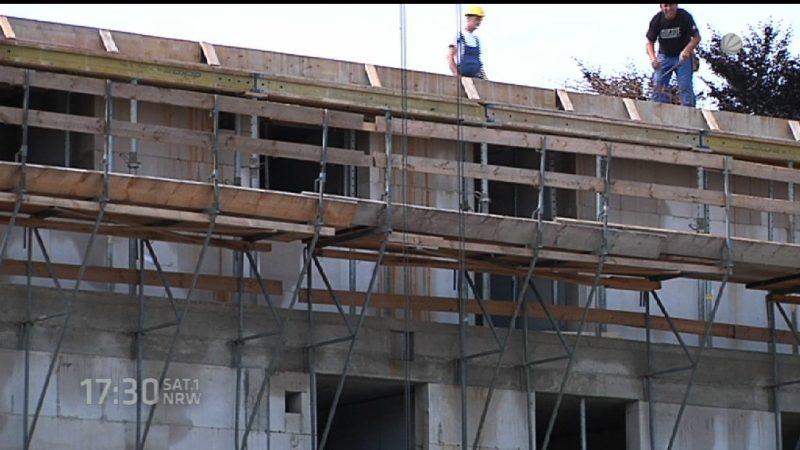 NRW will Wohnungen bauen (Foto: SAT.1 NRW)