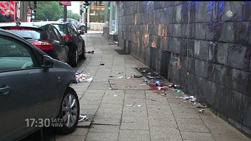 Schrecklicher Unfall in Essen (Foto: SAT.1 NRW)