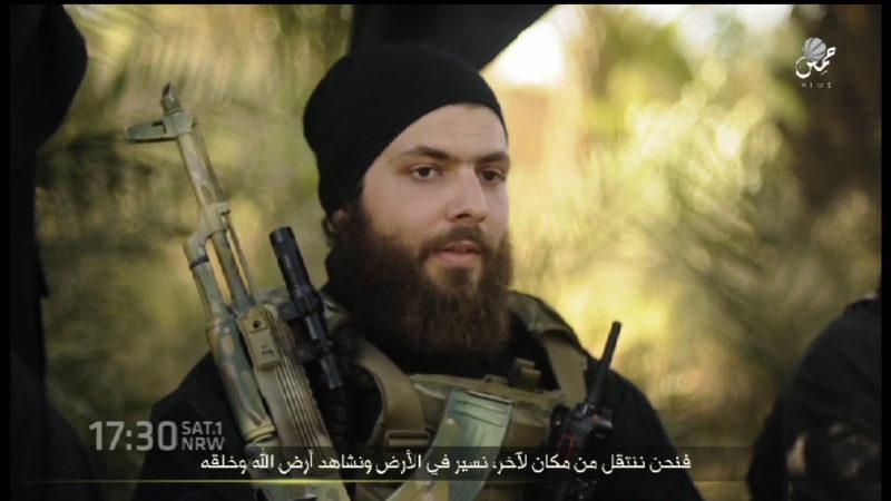 IS-Mörder kommt aus NRW (Foto: SAT.1 NRW)