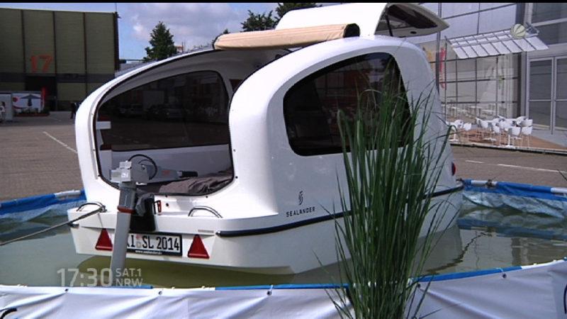 Caravan-Messe startet (Foto: SAT.1 NRW)