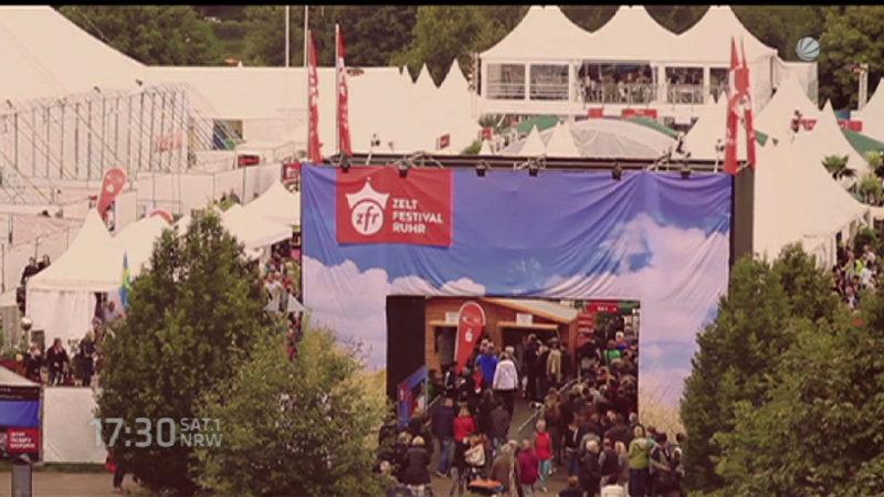 Zeltfestival in Witten (Foto: SAT.1 NRW)