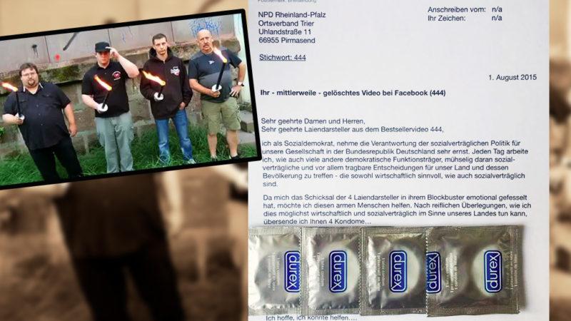 Netz feiert Antwort auf NPD-Video (Foto: Facebook)