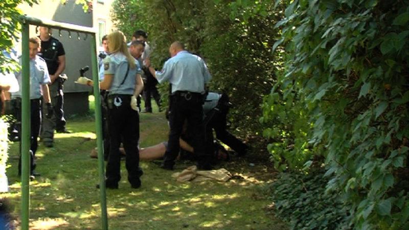 Mord im Schlosspark vor Gericht (Foto: SAT.1 NRW)