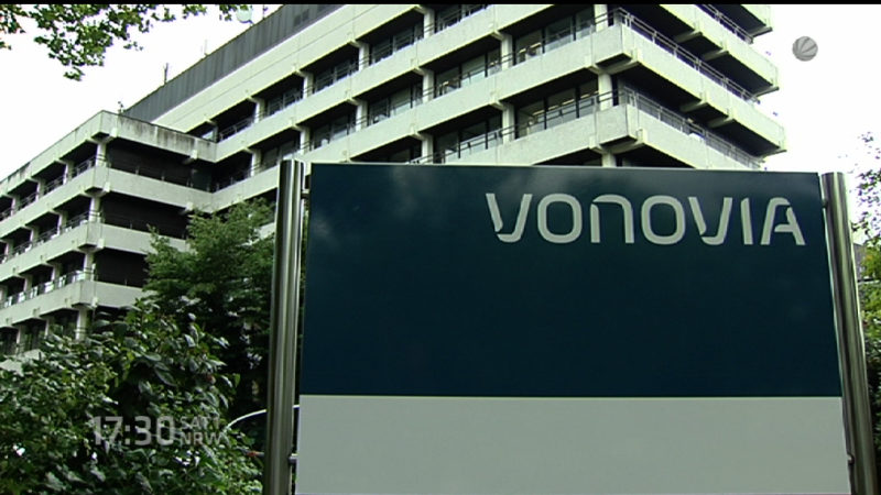 Vonovia jetzt unter den Top30 (Foto: SAT.1 NRW)