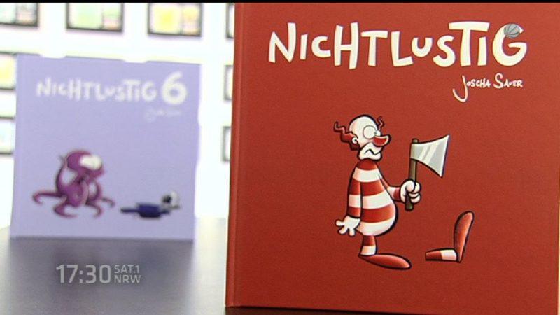 Ausstellung zeigt die Comic-Stars (Foto: SAT.1 NRW)