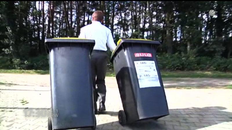 Müllirrsinn in Steinhagen (Foto: SAT.1 NRW)