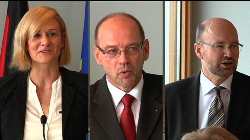 Neue Minister in NRW (Foto: SAT.1 NRW)