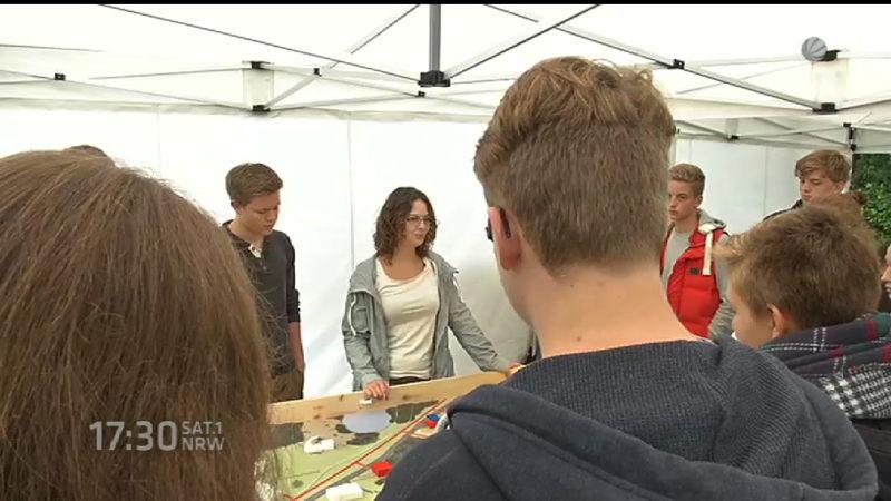NRW-Talente von Ost-Hochschulen abgeworben (Foto: SAT.1 NRW)