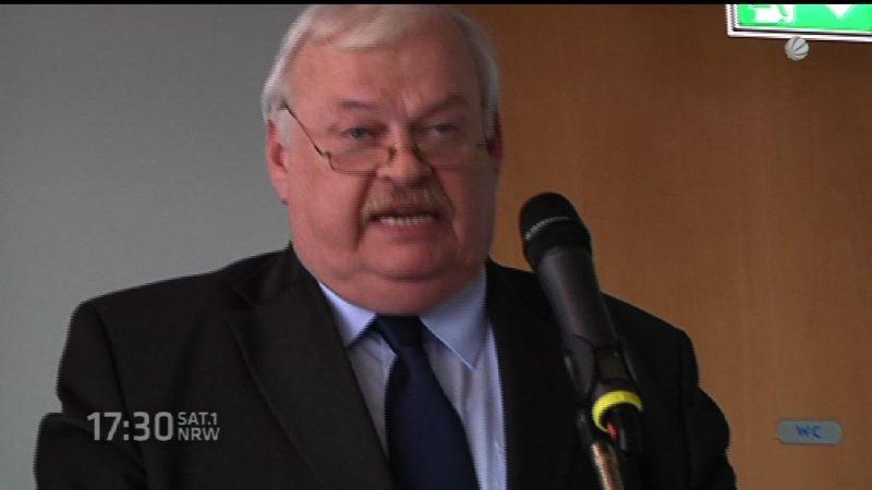 Minister fehlt (Foto: SAT.1 NRW)