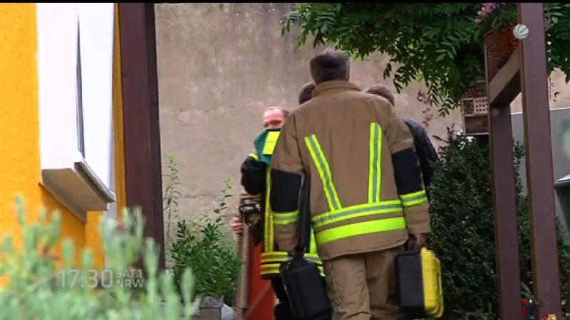 Hochexplosives in Bonner Haus gefunden (Foto: SAT.1 NRW)