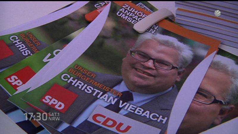 Bürgermeisterkandidat wegen Stalkings angezeigt (Foto: SAT.1 NRW)