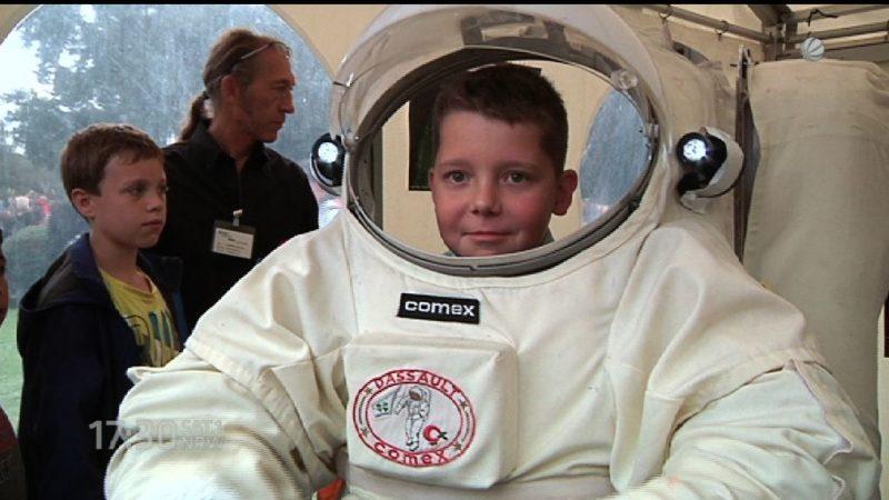 Einmal Astronaut sein (Foto: SAT.1 NRW)
