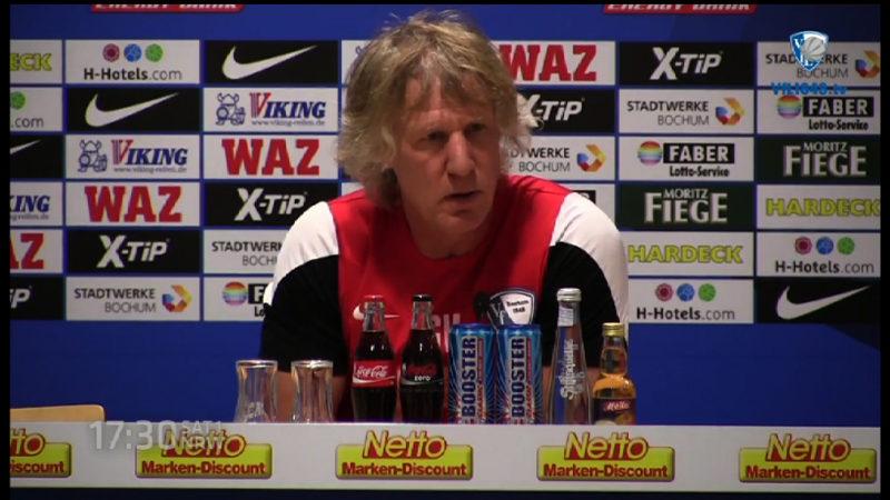 VfL-Trainer auf der Palme (Foto: SAT.1 NRW)