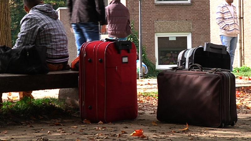 Weitere 1000 Flüchtlinge angekommen (Foto: SAT.1 NRW)