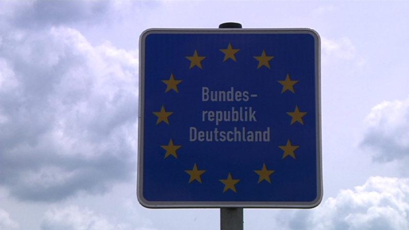 Deutschland macht die Grenzen dicht (Foto: SAT.1 NRW)