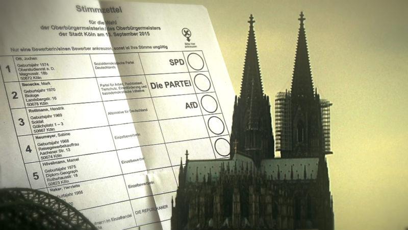 Peinliche Wahl-Panne in Köln (Foto: SAT.1 NRW)