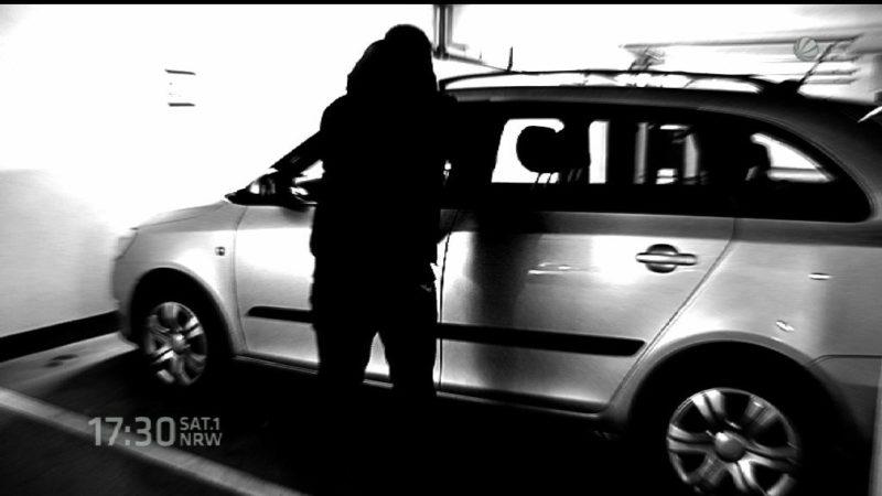 Schlag gegen Autodiebe (Foto: SAT.1 NRW)