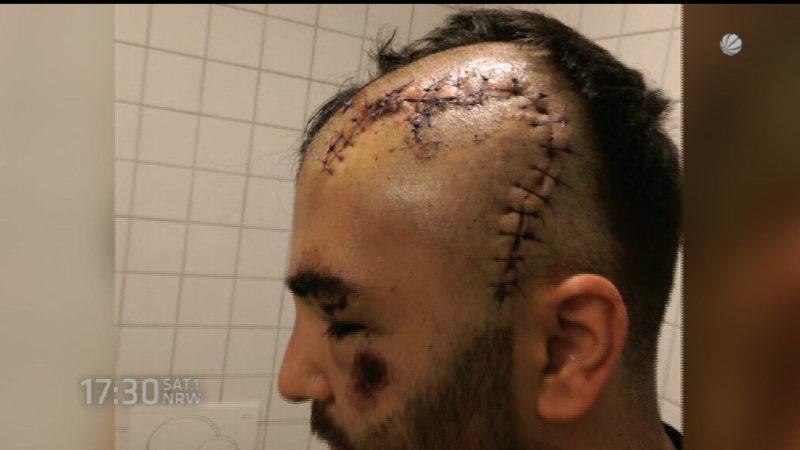 6,5 Jahre Haft für Burkan-Schläger (Foto: SAT.1 NRW)