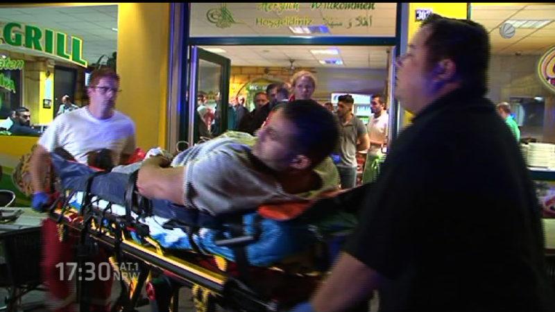 Suche nach Täter der Manuel Charr niedergeschossen hat (Foto: SAT.1 NRW)