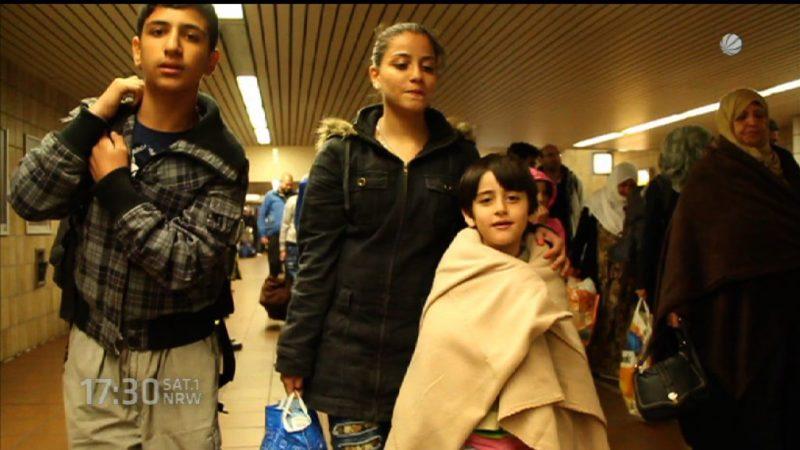 Innenminister zu Flüchtlingssituation (Foto: SAT.1 NRW)