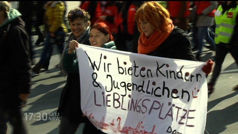 Neue Kita-Streiks? (Foto: SAT.1 NRW)