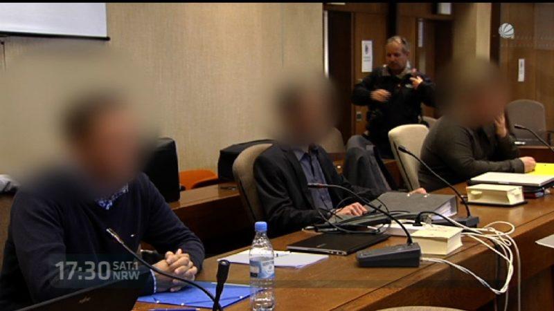 Prozess gegen Köln Hooligans (Foto: SAT.1 NRW)