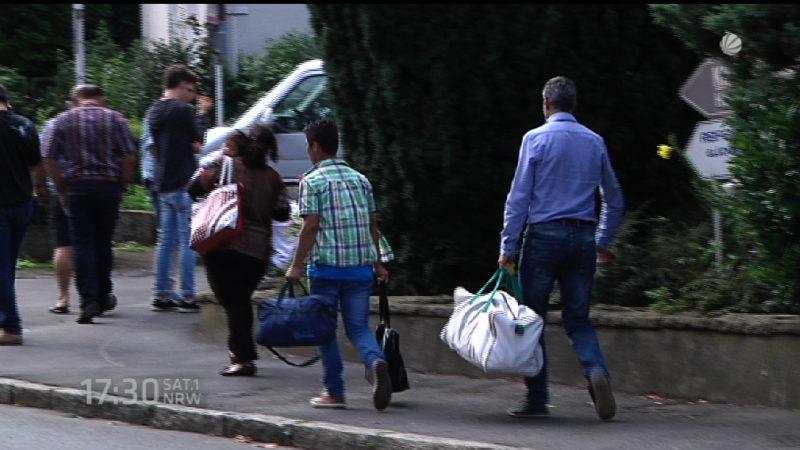 Heim für Balkan-Flüchtlinge (Foto: SAT.1 NRW)