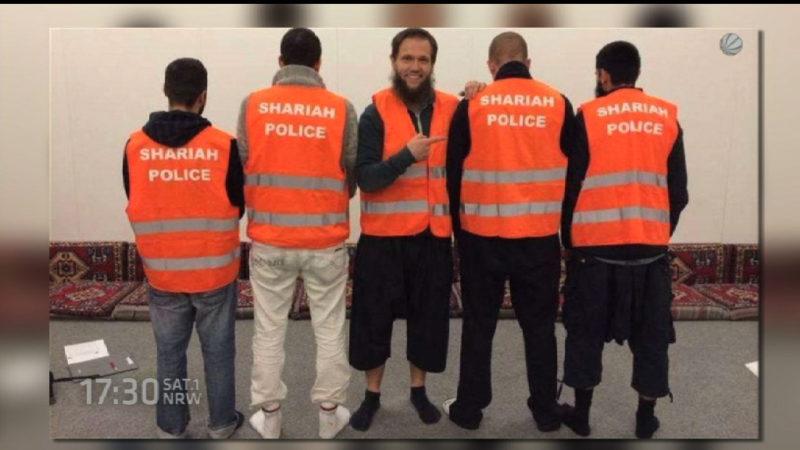 Staatsanwaltschaft erhebt Anklage wegen Scharia Polizei (Foto: SAT.1 NRW)