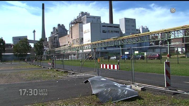 Ursache für Explosion im Chempark Krefeld (Foto: SAT.1 NRW)