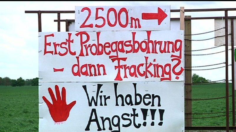 Kein Fracking in NRW (Foto: SAT.1 NRW)