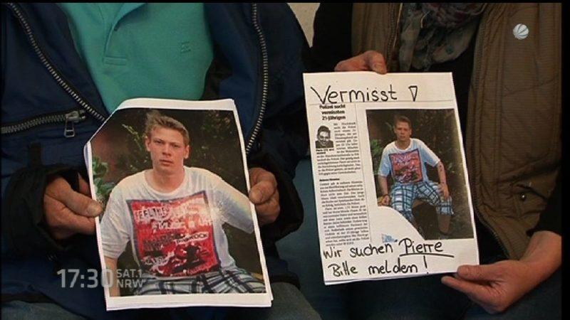 2 Jahre nach dem Verschwinden von Pierre Pahlke (Foto: SAT.1 NRW)